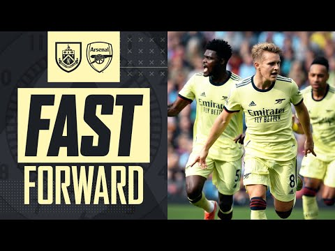 FAST FORWARD |  The goal, fans, tweets, reactions and more |  Burnley vs Arsenal (0-1) |  Premier league