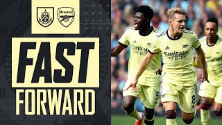 FAST FORWARD | The goal, fans, tweets, reactions & more | Burnley vs Arsenal (0-1)