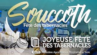 MAPS - SOUCCOTH - JOYEUSE FÊTE DES TABERNACLES