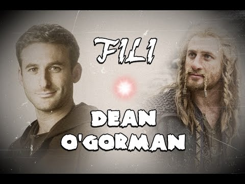 Dean O'Gorman FILI  He's a warrior