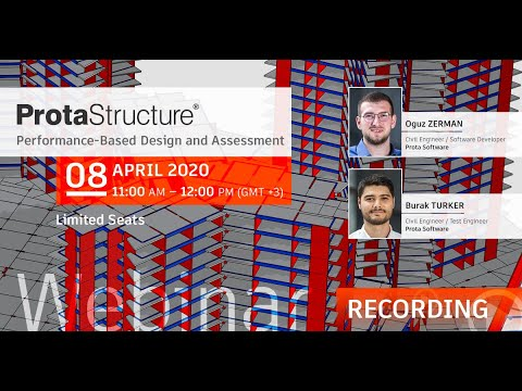 ProtaStructure - Performance Based Design and Assessment