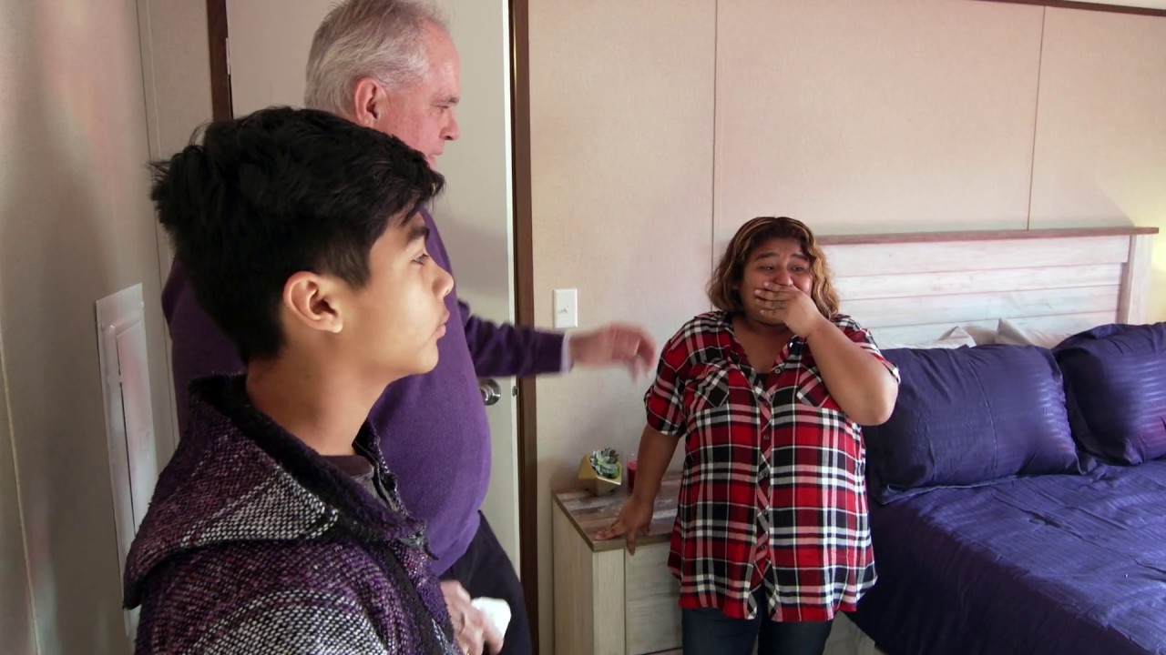 New homeowner moves into house they helped built