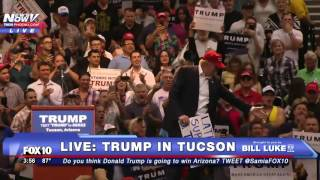 """MUST WATCH: Trump Tells Melania he's FALLEN IN LOVE with  """"Latinos Support Trump"""" Woman - FNN"""