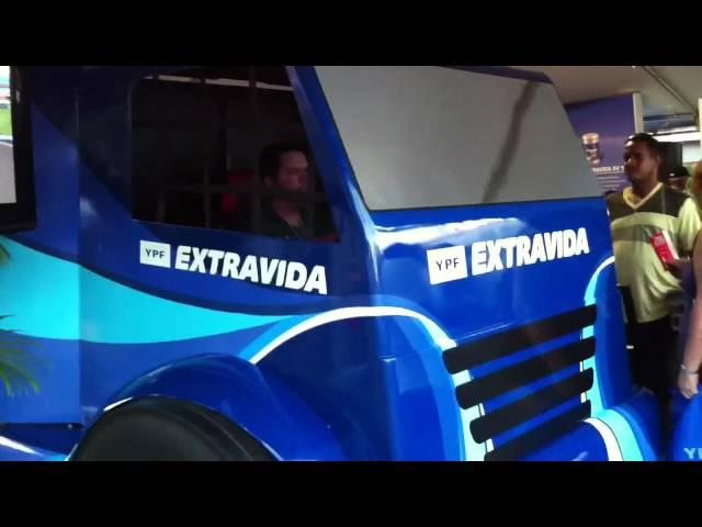 Simulador de Caminhão YPF