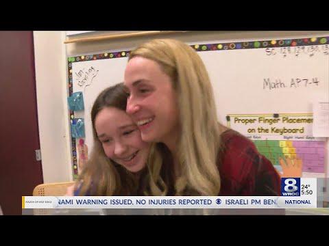 Golden Apple Awarded To Allen Creek Elementary School Teacher