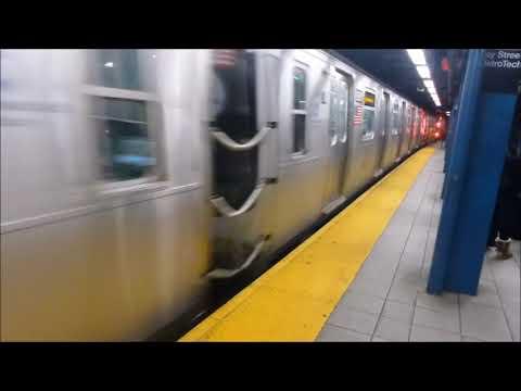 C Leaving Jay Street MetroTech In 7 Speeds