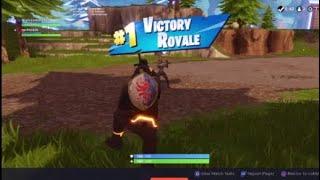 Obtenir une victoire avec Zach On Fortnite Battle Royale
