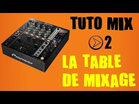 table de mixage tuto