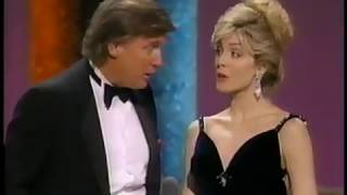Donald and Marla Maples Trump Present at 1994 ESPYs
