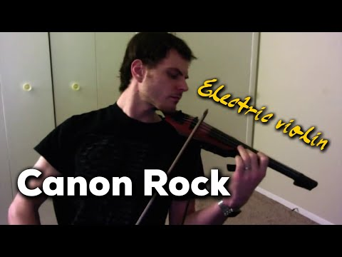 Canon Rock On The Electric Violin