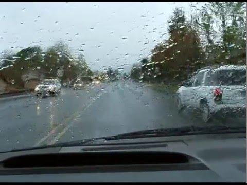Rainy day drive from near Medford to Ashland Oregon - part 2.mpg