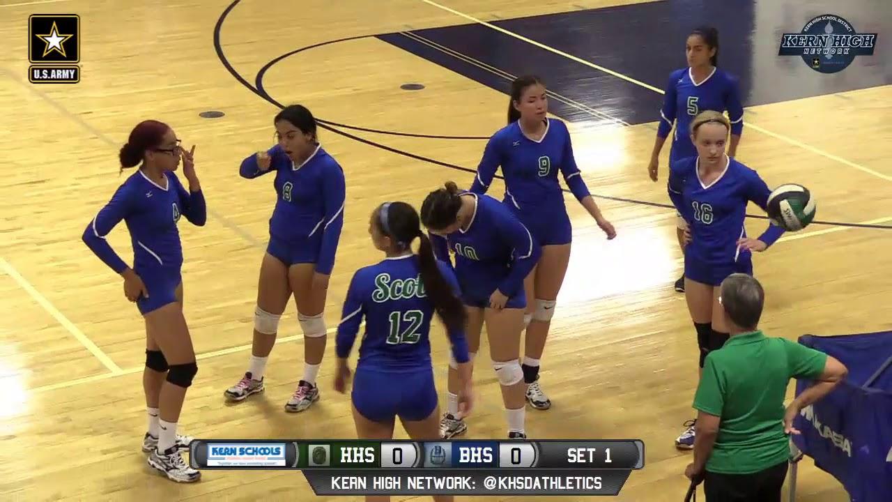 Volleyball Highland High School At Bakersfield High School 9617