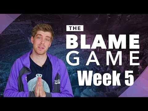 The Blame Game | S7 Spring W5: No Impact, Echo Faux and Once Again... GoldenGlue