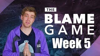 The Blame Game   S7 Spring W5: No Impact, Echo Faux and Once Again... GoldenGlue