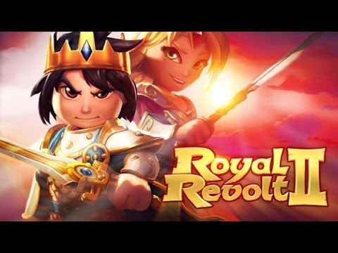 Royal Revolt 2 Gameplay HD - For IOS And Android