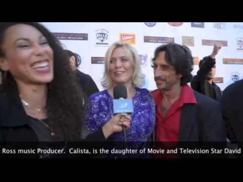 PlanetE! Entertainment  Subscription Channel, Red Carpet, Hollywood CA, with Calista Carradine