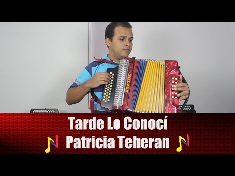 Tutorial Acordeon Tarde Lo Conoci