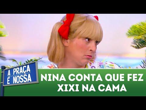 Nina conta que fez xixi na cama | A Praça É Nossa (22/03/18)