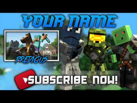 Awesome Minecraft Outro Free!!! [Template Download]