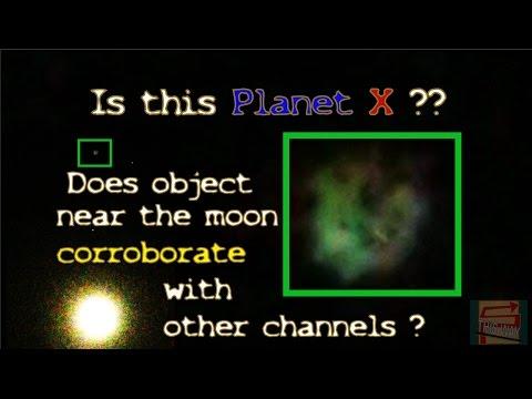 Object near the moon,Planet X ??