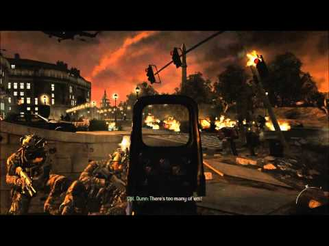 Call of Duty Modern Warfare 2 (entire Washington DC Night Battle)