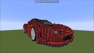 Minecraft   Ferrari 458