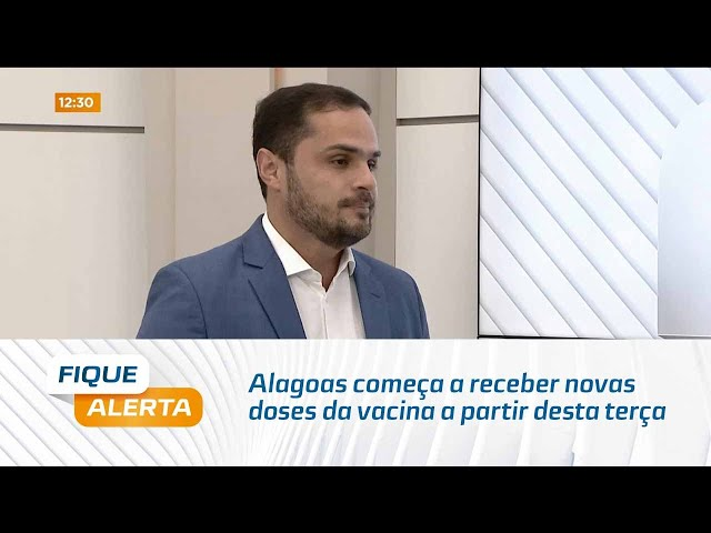 Contra a Covid-19: Alagoas começa a receber novas doses da vacina a partir desta terça-feira