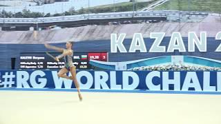 Александра Солдатова - Булавы(финал) 19.50 WCC Kazan 2018