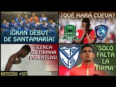 ¡GRAN DEBUT de SANTAMARÍA! || OFERTA FORMAL a CUEVA || ABRAM a una FIRMA de VÉLEZ || NOTICIERO #107