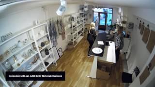AXIS M2025-LE vidéo