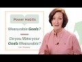 Measureable Goals? Do you make your goals measurable? A short video from Success Partners