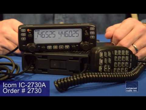 Universal-Radio presents the Icom IC-2730A dual band transceiver