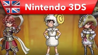 Dragon Quest VII: Fragments of the Forgotten Past - Classes (Nintendo 3DS)