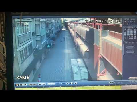 Женщина пыталась украсть ребенка из детсада в Алматы. Видео 2