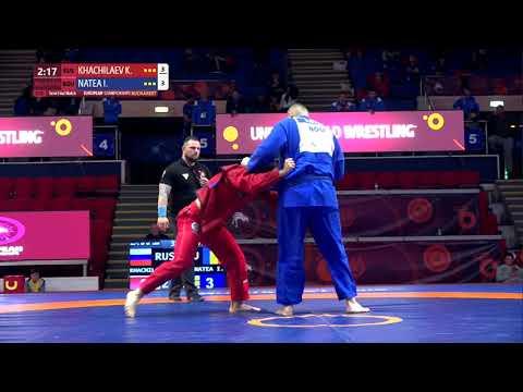 1/2 Men's GP Gi - +100 kg: K. KHACHILAEV (RUS) v. I. NATEA (ROU)