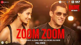 Zoom Zoom - Full Video| Radhe - Your Most Wanted Bhai|Salman Khan,Disha Patani|Ash,Iulia|Sajid Wajid