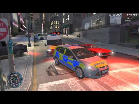 GTA IV LCPD:FR - Multiplayer - Day 2 - Just another Day at the Office