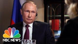 Confronting Russian President Vladimir Putin, Part 6 | Megyn Kelly | NBC News