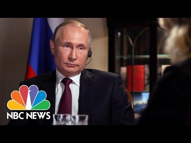 Confronting Russian President Vladimir Putin Part 6 Megyn Kelly Nbc News