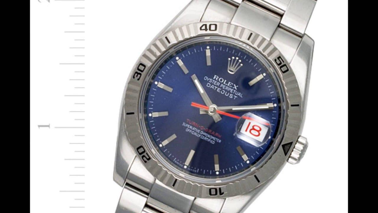0acd2ab9b3b Men s Rolex Datejust Turn-O-Graph 116264 Buy