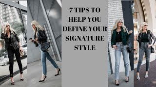 7 Tips to Help You Identify Your Signature Style | Fashion Over 40