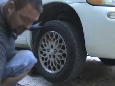 Chrysler Town and Country Broken Lug Stud Repair DIY