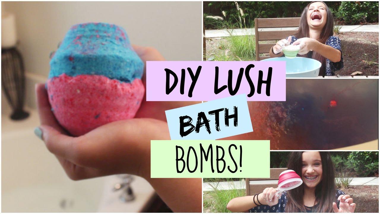 Diy lush bath bombs demo youtube for Diy bathroom demolition