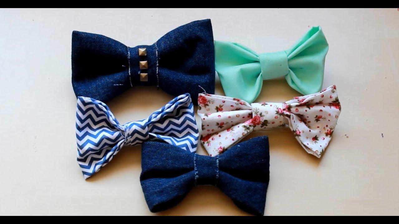 sew hair bows
