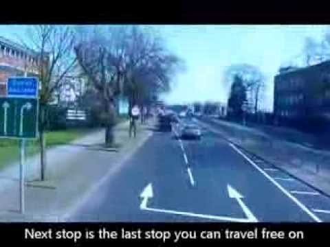 A Journey On The Free Heathrow 105 Bus To Many Heathrow Airport Hotels