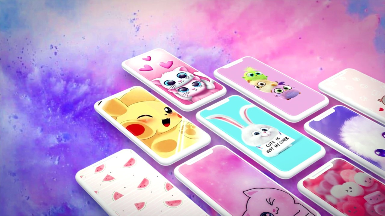 UntitledGirly Cute Live Wallpapers
