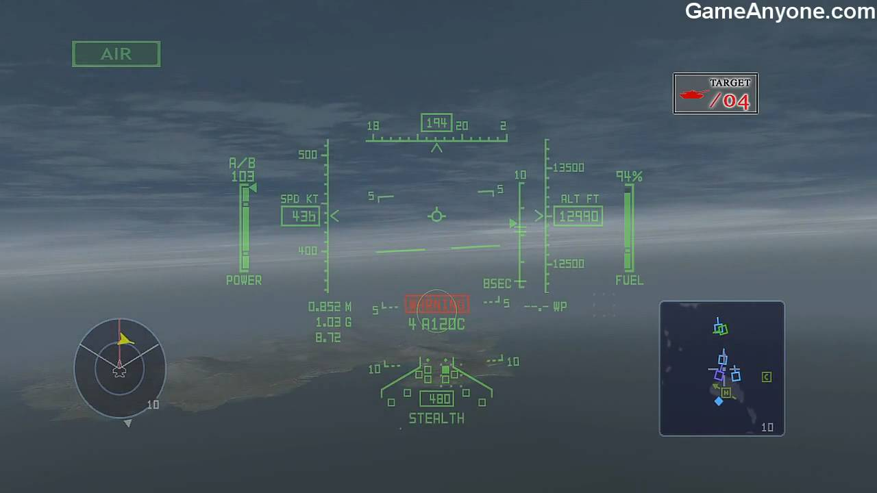 Over G Fighters - Indian Ocean - Strategic Mission - Destroy The Enemy's Final Base