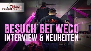 Besuch bei Weco Feuerwerk mit Interview
