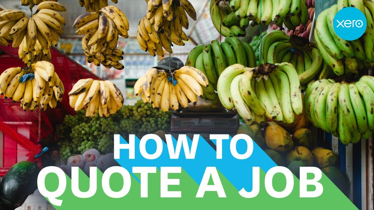 how to write a quote for a job small business guides xero