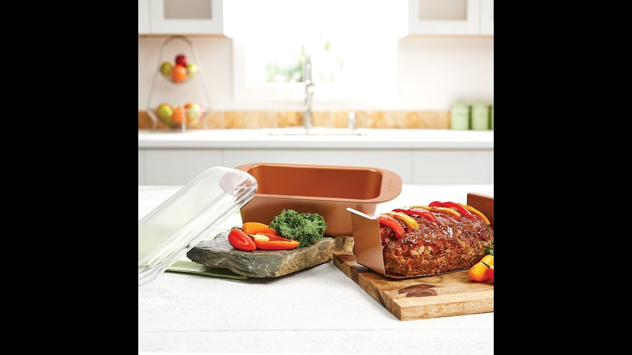 Review Copper Chef 9 Perfect Loaf Pan Bogo Youtube